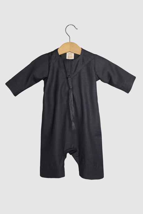Winter Collection: Kandora Onesie - Dark Grey