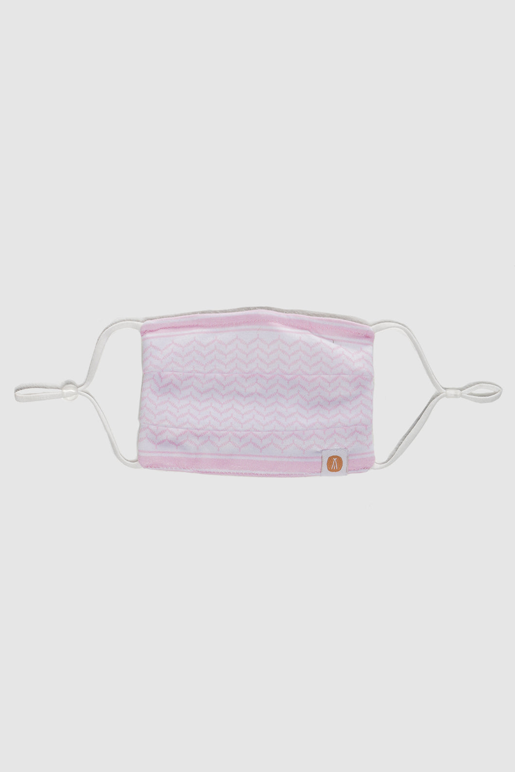 Face Mask - Pink Shemagh