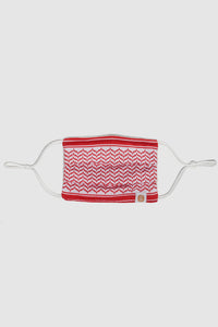 Face Mask - Red Shemagh