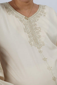 Mommy Jalabiya - Classic Collection - Cream