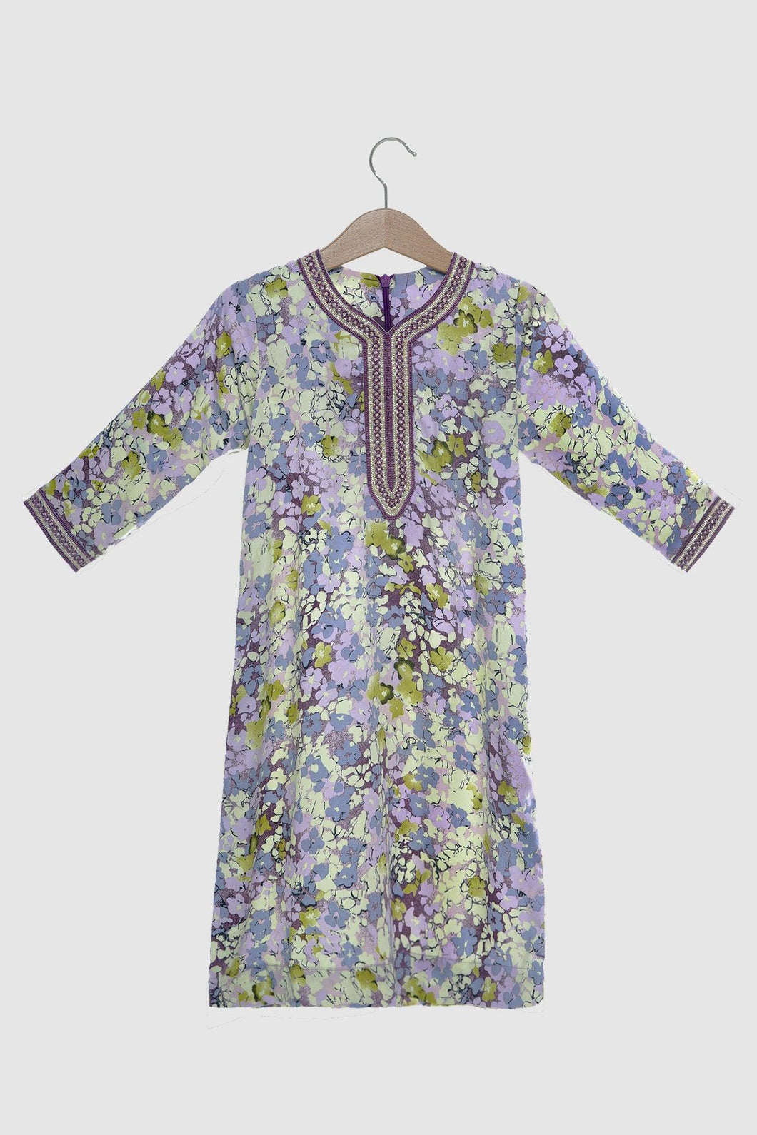 Floral Collection: Jalabiya - Dusk