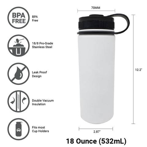 Great For Alkaline Water Storage - White
