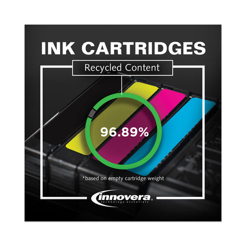 Innovera Remanufactured Yellow High-Yield Ink, Replacement for HP 940XL (C4909AN), 1,400 Page-Yield