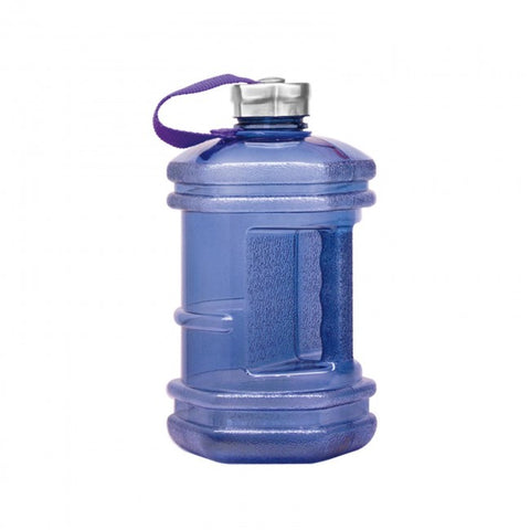 2.3 Liter BPA Free Hexagon Water Bottle - Dark Blue