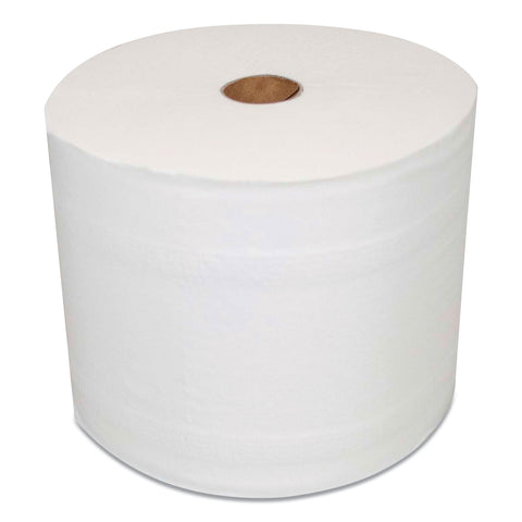 Morcon Paper Mor-Soft Coreless Alternative Bath Tissue, Septic Safe, 2-Ply, White, 1000 Sheets/Roll, 36 Roll/Carton