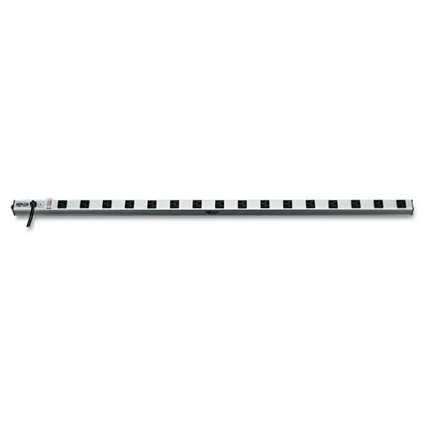 "Tripp Lite Vertical Power Strip, 16 Outlets, 15 ft Cord, 48"" Length"