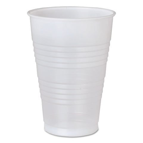 Conex Galaxy Polystyrene Plastic Cold Cups, 16 oz, 50/Bag