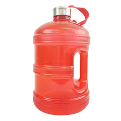 1 Gallon BPA Free Water Bottle w/ Stainless Steel Cap - Red - Red / 1 Gallon / BPA Free Plastic - Red / 1 Gallon / BPA Free Plastic