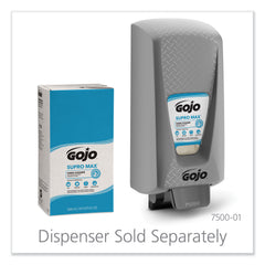 GOJO SUPRO MAX Hand Cleaner Refill, 5000 mL, Floral Scent, Beige, 2/Carton - Beige