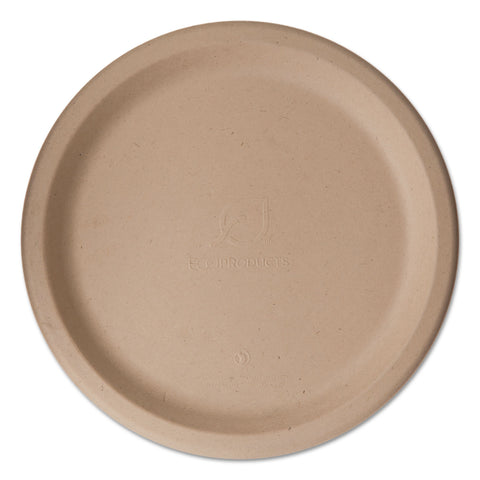 "Eco-Products Wheat Straw Dinnerware, Plate, 10"" Diameter, 500/Carton"