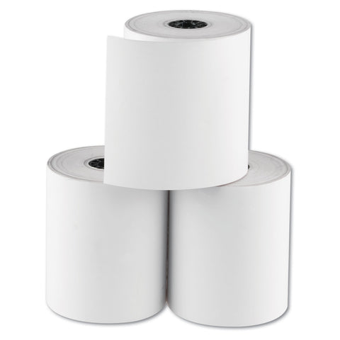 "National Checking Company RegistRolls Thermal Point-of-Sale Rolls, 3.13"" x 200 ft, White, 30/Carton"
