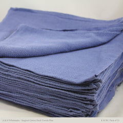For Your Water New Blue Huck Towels