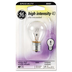 GE Incandescent S11 Appliance Light Bulb, 40 W