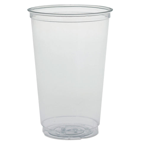 Dart Ultra Clear PETE Cold Cups, 20 oz, Clear - Clear