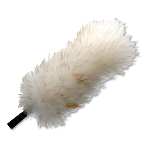 "Unger StarDuster Lambswool Duster, 15"" Handle, 6/Carton"