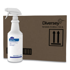 Diversey Glance Glass and Multi-Surface Cleaner, Original, 32 oz Spray Bottle, 12/Carton