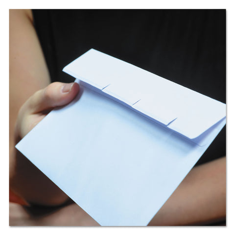 Quality Park Reveal-N-Seal Envelope, #9, Commercial Flap, Self-Adhesive Closure, 3.88 x 8.88, White, 500/Box - White / #9