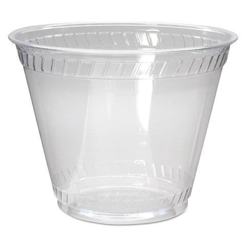Greenware Cold Drink Cups, Old Fashioned, 9 oz, Clear, 1000/Carton