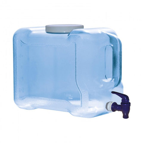 2 Gallon BPA Free Refrigerator Water Bottle with Dispenser - Blue