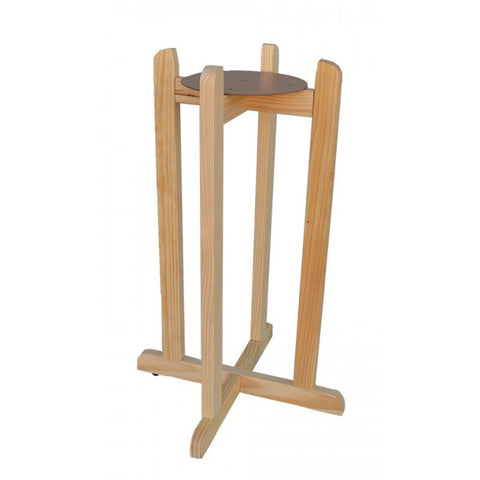 "30"" Wood Painted Stand - Natural"