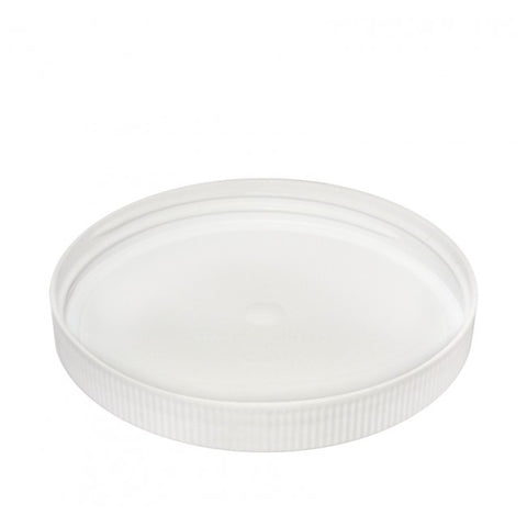120MM Screw On Cap - White