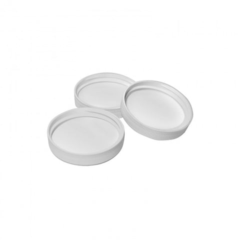 38MM Screw On Cap - White