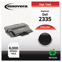Innovera Remanufactured Black High-Yield Toner, Replacement for Dell 2335 (330-2209), 6,000 Page-Yield