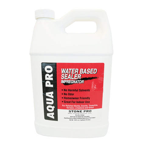 Stone Pro Aqua Pro - Water Based Sealer Impregnator - 1 Gallon