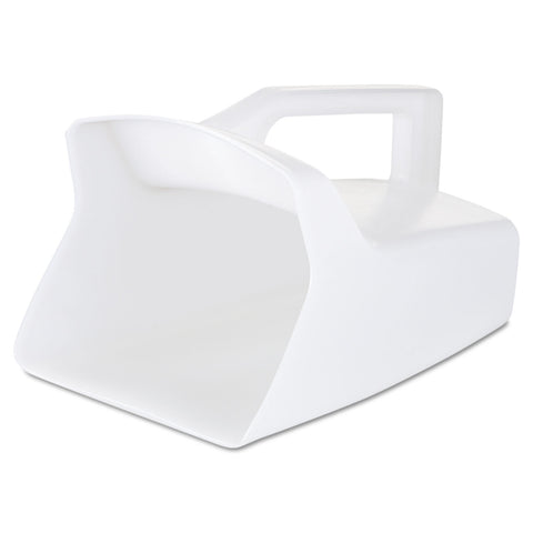 Rubbermaid Commercial Bouncer Bar/Utility Scoop, 64oz, White
