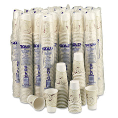 Dart Hot Cups, Symphony Design, 16oz, Beige, 1000/Carton - Beige