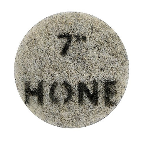 "Stone Pro 7"" Diamond Impregnated Pads 400 Grit Hone - Floor Polishing Systems - Easy To Use Maintenance System For Auto-Scrubbers, Burnishers and Swing Machines"