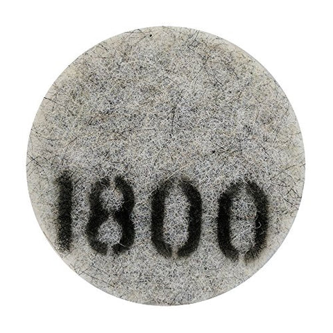 "Stone Pro 7"" Flexible Resin DOT Pads 1800 Grit - For Superior Polish On Stone, Concrete and Terrazzo"