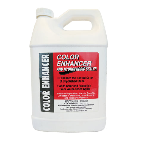 Stone Pro Color Enhancer- Unpolished Stone Sealer and Enhancer
