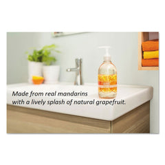 Seventh Generation Natural Hand Wash, Mandarin Orange & Grapefruit, 12 oz Pump Bottle