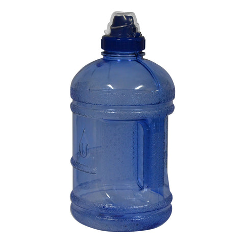 Water Bottle with Sports Top - Dark Blue