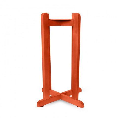 "27"" Wood Painted Stand - Red - 27 Inches / Red / Wood"