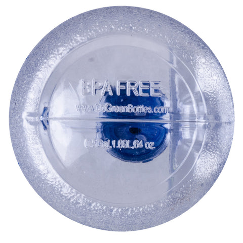 Water Bottle with Sports Top - Clear
