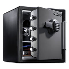 Sentry Safe Fire-Safe with Digital Keypad Access, 1.23 cu ft, 16.38w x 19.38d x 17.88h, Gunmetal