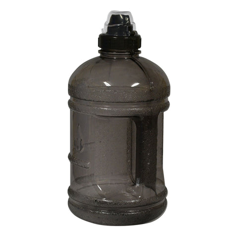 Water Bottle with Sports Top - Black