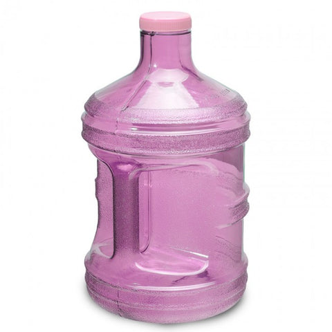 1 Gallon Polycarbonate Round Water Bottle - Pink