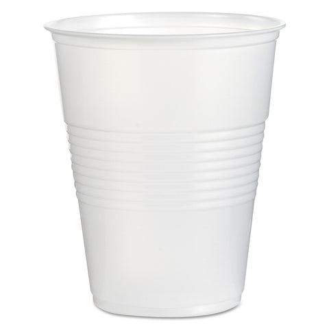 Boardwalk Translucent Plastic Cold Cups, 16oz, Polypropylene, 50/Bag, 20 Bags/Carton