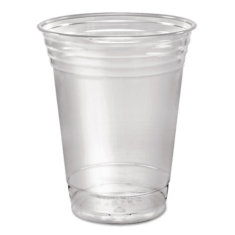 Dart Ultra Clear Cups, Squat, 16 oz, PET, 50/Pack