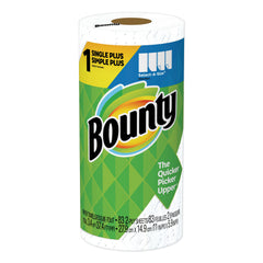 Bounty Select-a-Size Paper Towels, 2-Ply, White, 5.9 x 11, 83 Sheets/Roll