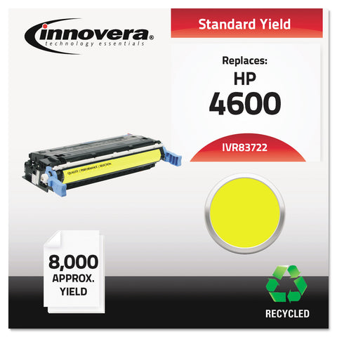 Innovera Remanufactured C9722A (641A) Toner, 8000 Page-Yield, Yellow - Yellow