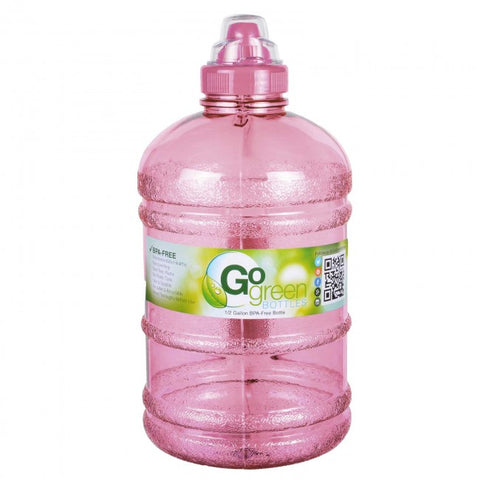 Water Bottle with Sports Top - Pink