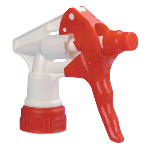 "Boardwalk Trigger Sprayer 250 f/24 oz Bottles, Red/White, 8""Tube, 24/Carton"