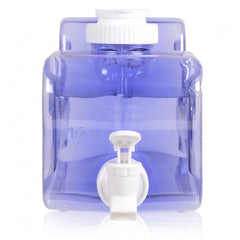 Refrigerator Water Bottle with Dispenser - Dark Blue