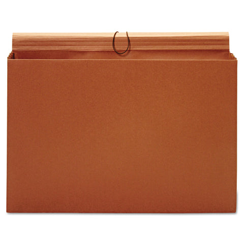 "Pendaflex Expanding Wallet, 3.5"" Expansion, 1 Section, Tabloid Size, Brown"
