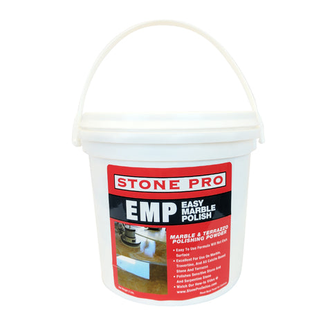 Stone Pro Easy Marble Polish (Emp) - Marble And Terrazzo Polishing Powder - 3 Pound