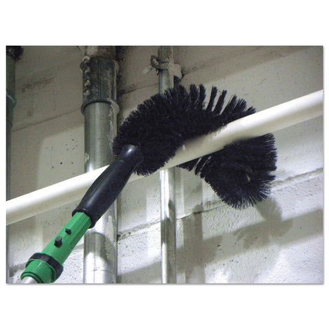 "Unger StarDuster Pipe Brush, 11"", Black Handle"